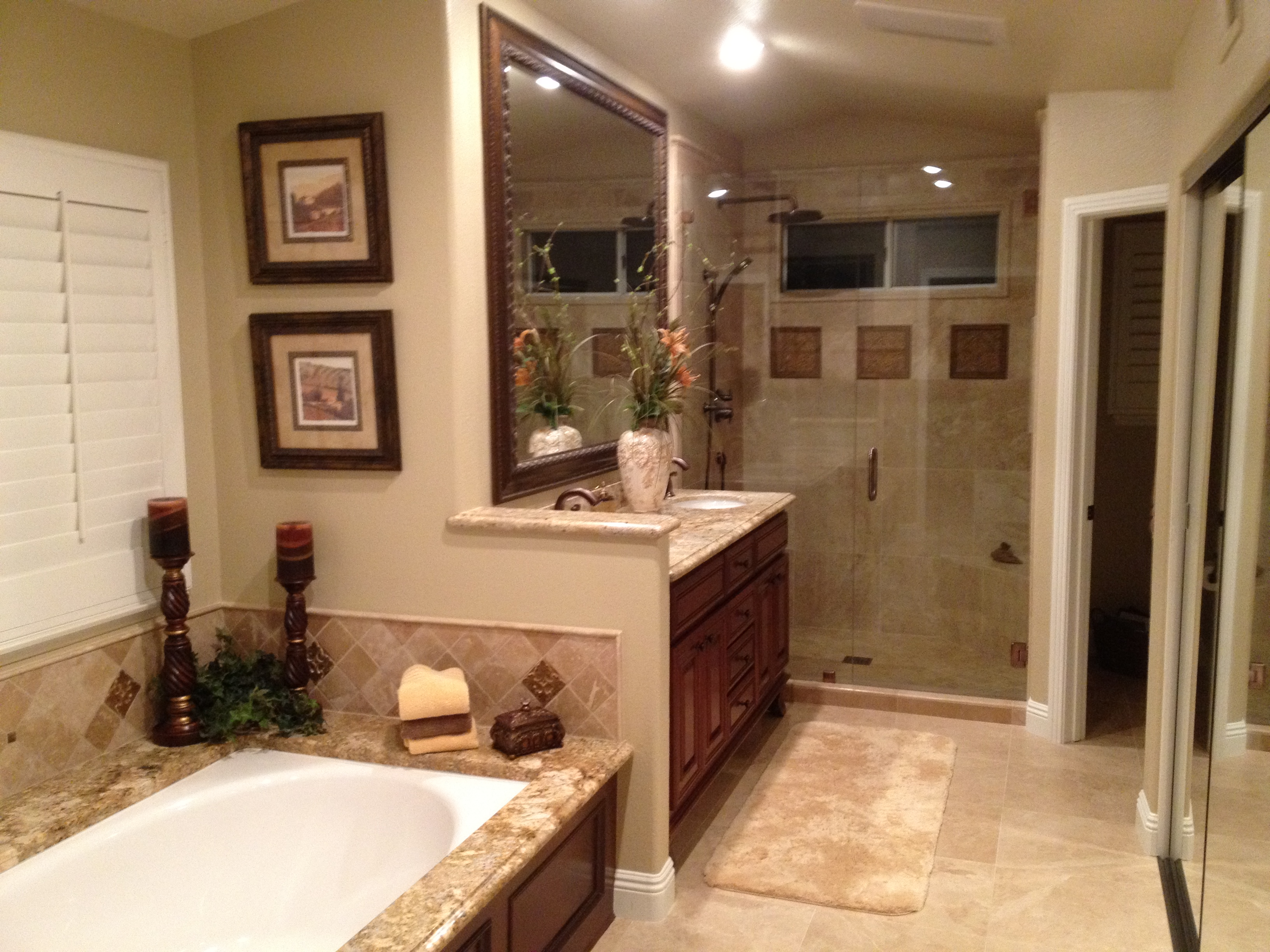 Orange county bathroom remodeling kitchen remodeling for Kitchen bathroom photos