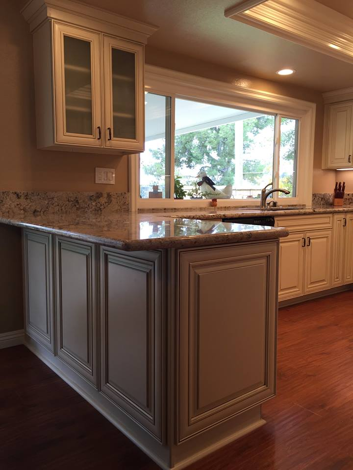 kitchen remodeling services company creates open designs