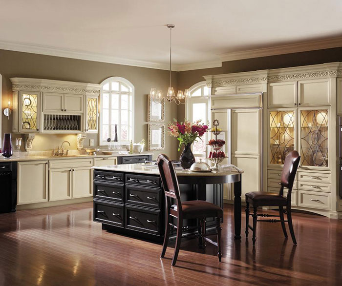 cabinets by Decora hide appliances