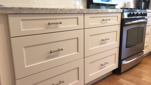 kitchen remodeling services company includes drawers for storage