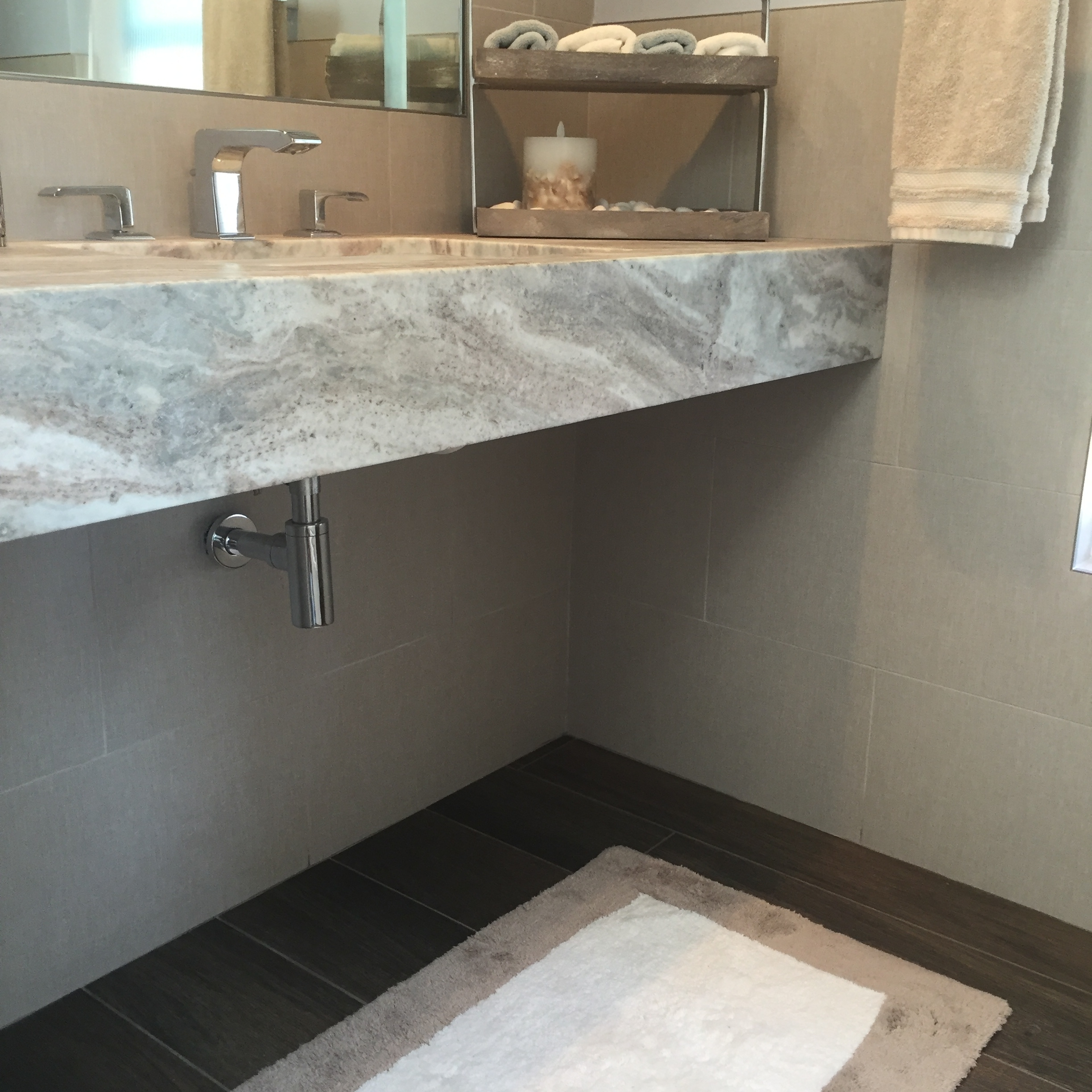is feature bathroom look i pin tile t this themed the in can nautical wood