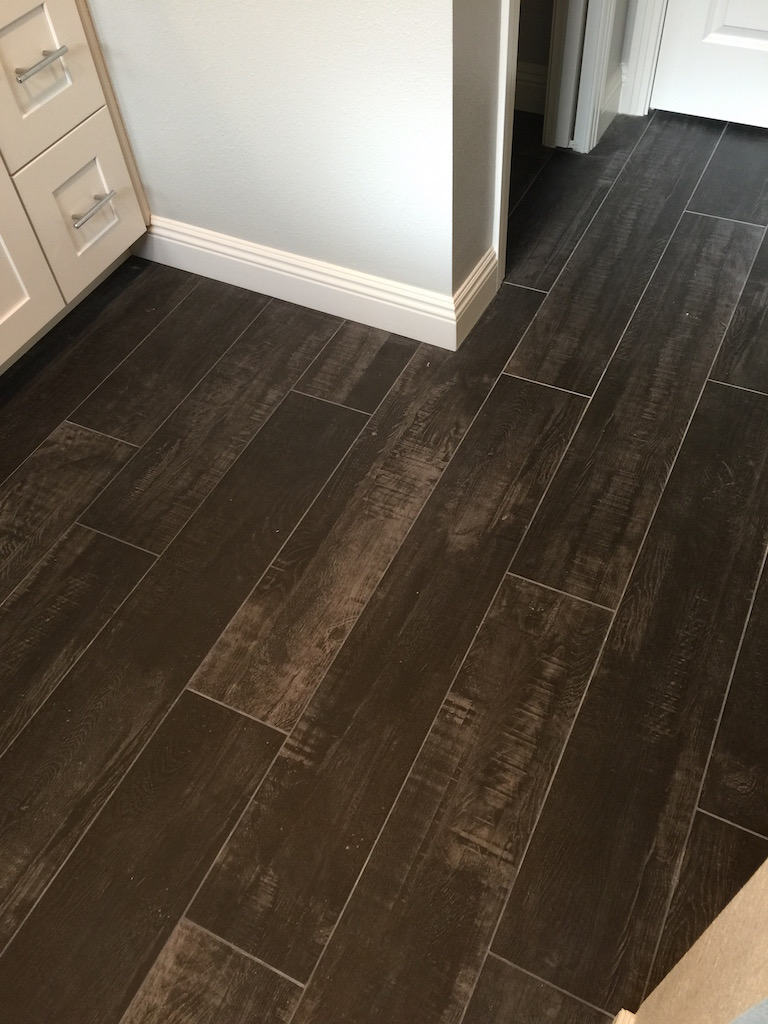 Wood Look Tile Inspired Remodels