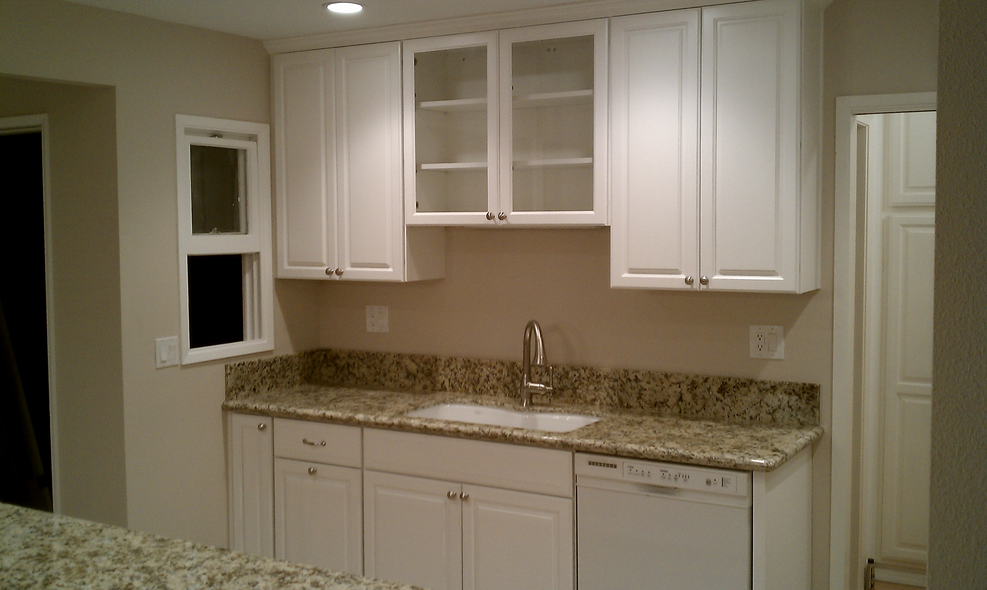 Specialty Cabinets Installed By Kitchen Cabinet Contractor