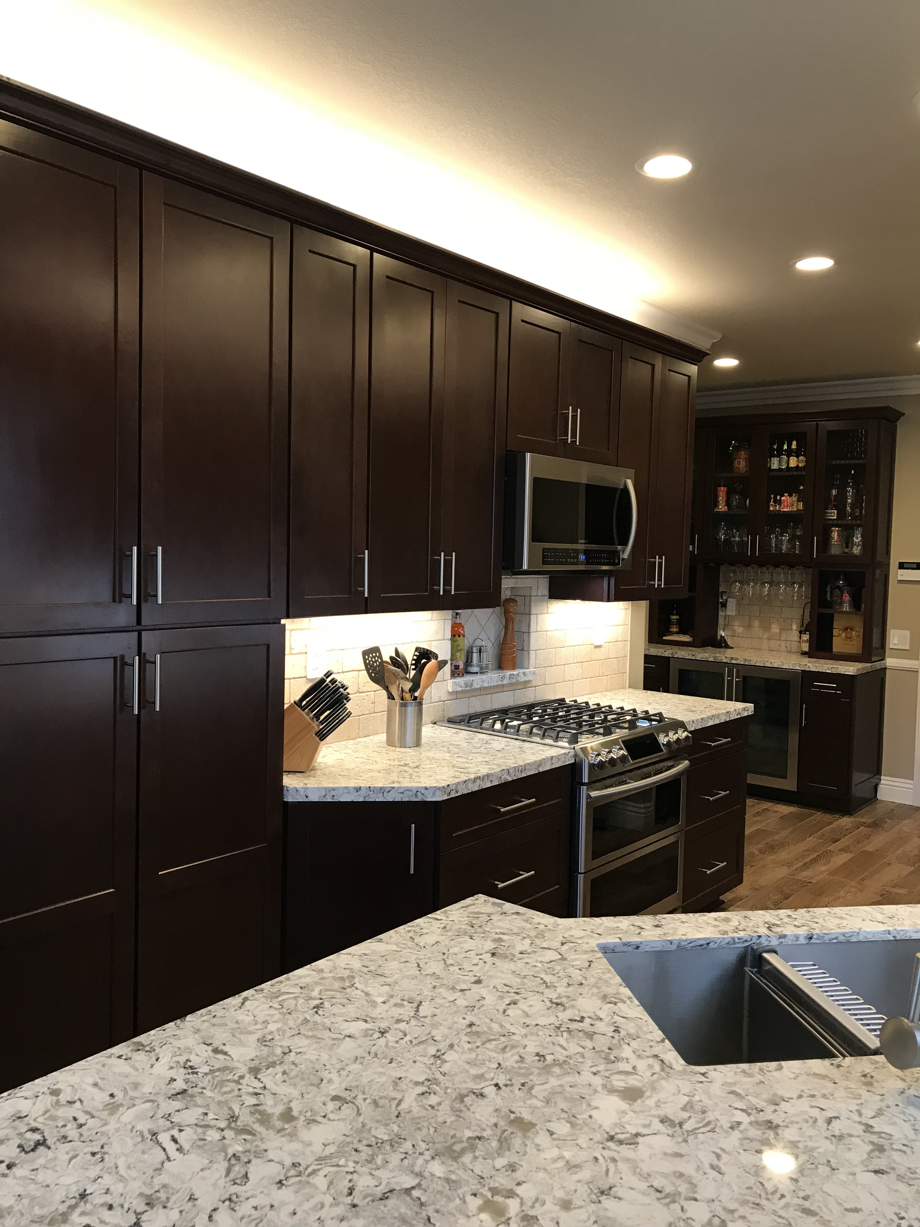 Semi Custom Kitchen Cabinets: Orange County Kitchen Cabinet Contractor For Semi-Custom