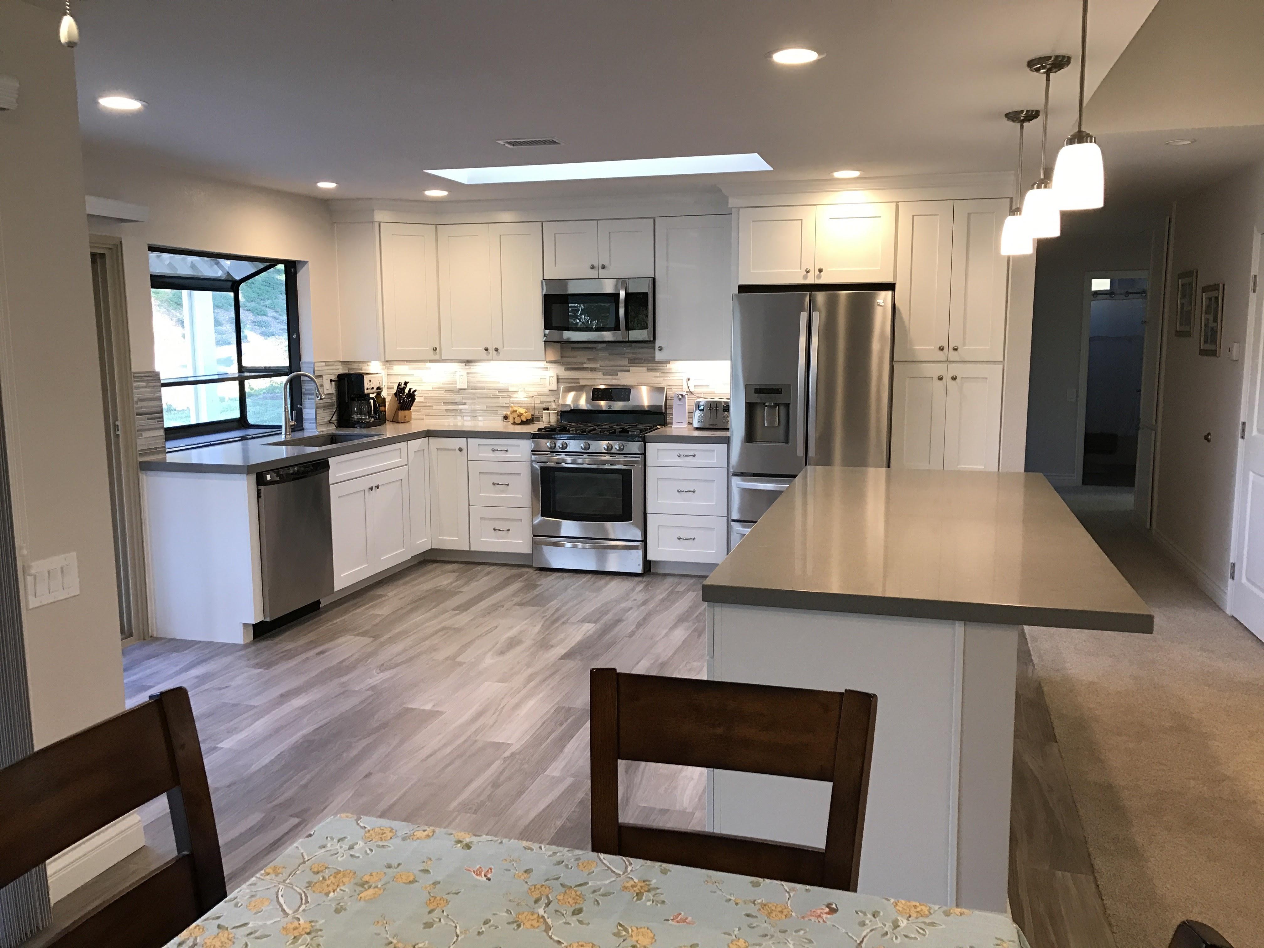 Kitchen Renovation Company Explains Laminate & Luxury Vinyl ...